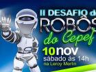 Desafio entre Robôs acontece sábado, em Campo Grande