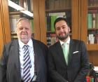 Ministro Félix Fischer e Dr. Daniel Castro Gomes da Costa