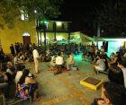 As apresentações são abertas ao público; local tem capacidade para 350 pessoas