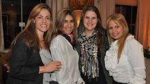 Adriana, Regina Queiroz, Marisa e Alessandra