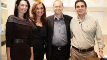 Vera Queiroz, Vera Saad, Luiz Cese e Renato Castro (Diretor Comercial Dryzun)