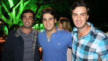 Maurício Abrão, Rafael Orsi e Eduardo Orsi