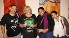 Marise, Pietrina, Gislaine e Cidinha