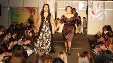 Denise Flores e a mãe Gleide Flores que respondem pela Maison Gleide Flores