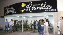 Floricultura Reunidas inaugura novo espaço no Shopping