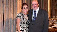 Alexandrina e Joaquim Barbosa
