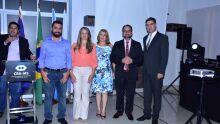 Diretores do CRA-MS: Marcos Silva, Telma Cristina, Solaine Trindade com o vice-presidente Valdir Pereira e o presidente Alex Rodrigo Cazelli