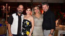 Carlos Marques, Juliana, Maria Caroline Carloto e Max Nantes