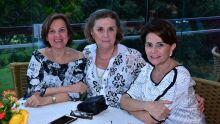Waine Fonseca, Clea Barbosa e Maria Lucia Cintra