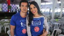 Diogo Mishima e Rejane Monteiro