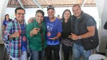 Josimário, Dácio Correa, Carlos Alberto, Maria Eduarda e Gatti