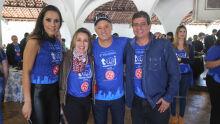 Sabrina, Tânia, Carlos Alberto  e Athayde Nery