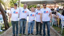José Armando, Alipio Oliveira, Mansour Karmouche e Stheven Razuk