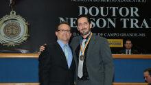 Dr. Lívio e Bruno Terence Romero e Romero Gonçalves Dias