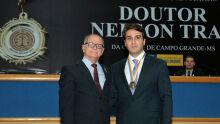 Dr. Wilson Sami e Lucas Orsi Abdual Ahad