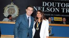 André Salineiro e Mônica Barros Reis