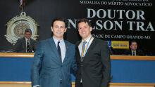 Andre Salineiro e Ademar Ocampos Filho