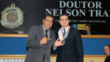 Ayrton Araújo do PT e Lucas Tobias Arguello