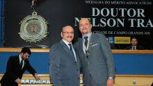 Dr. Loester e Mozanei Garcia Furrer