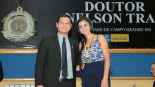 Otavio Trad e Andressa Silva Rocha