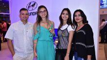 Claudiomiro Dutra, Michele Aparecida Gamarra, Gisele Gamarra e Claudia Gamarra