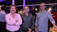 Luca Mali, Jaime Pereira e Sergio Borgato