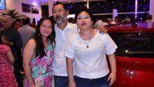Stephanie Amaya, Ademar Amaya e Karyna Amaya Sato