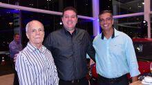 Edimar Camargo, Carlos Henrique e André Saab