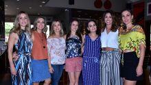 Ana Carolina, Ana Paula, Judith Amaral, Virginia Leite, Renata Zuconelli, Fabiola Rahim e Lidiane Lorenzoni
