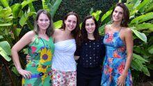 Ana Paula Garcia, Fernanda Charlier, Camila Bega e Fernanda Prates