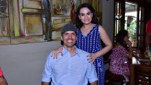 António Ferreira Junior e Renata Corona