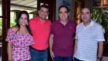 Carla Cardoso Nunes da Cunha, Leonardo Nunes da Cunha Filho, Felipe Orro e Nelson Mendes