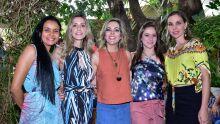 Doriane Chamorro, Ana Carolina, Ana Paula Ribeiro, Virginia Leite e Lidiane Lorenzoni