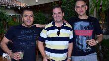 Luiz Paulo Reis, André Cabreira e Roberto Lorenzoni