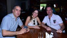 Mauricio  Wanderley, Juliana Aires e Claudio Aires