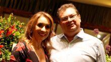 jJuíza Liliana de Oliveira Monteiro com o marido Fábio