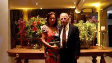desembargador aposentado Jesus de Oliveira Sobrinho com a esposa Deolinda