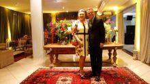 advogado convidado André Borges e esposa