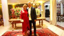 Des. Luiz Claudio Bonassini da Silva e a esposa Luziclaire