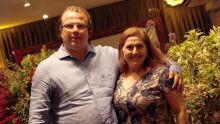 juíza Elizabete Anache e o esposo Felipe