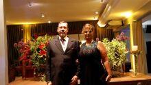 juiz Rubens Witzel Filho e a esposa Samira