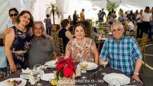 Cesarina e Jose Ramos Ferreira,Bernadete e Manoel Erico Barreto