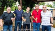 Emilio, Júlio, Waldomiro, Barros e Fadel