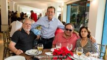 Jorge Garcia, Wilson Marques, Nelson e Eunice Baruta