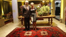 Des. Ruy Celso Barbosa Florence e esposa Sônia