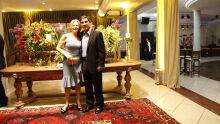 Des. Luiz Gonzaga Mendes Marques e a esposa Maria Tereza