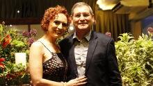 Des. Geraldo de Almeida Santiago e a esposa Keila