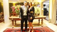 Juiz Cezar Fidel Volpe e a esposa Valquíria