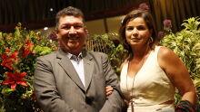 Des. Marcelo Câmara Rasslan e a esposa Simone