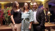 Juíza Joseliza Turine com o esposo e reitor da UFMS Marcelo Turine